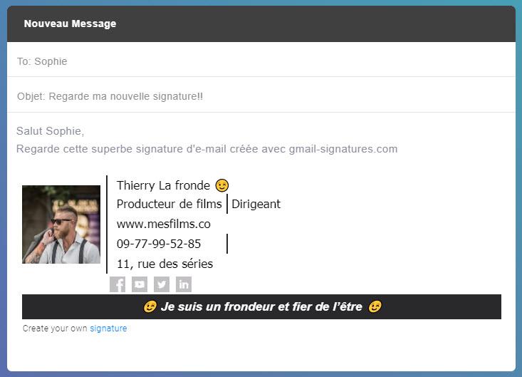 signature yahoo mail